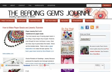 http://www.beadinggem.com/2010/01/how-to-make-paper-bead-and-jewelry.html