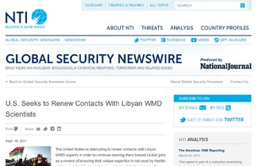 http://www.nti.org/gsn/article/us-seeks-to-renew-contacts-with-libyan-wmd-scientists/