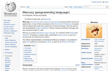 http://en.wikipedia.org/wiki/Mercury_(programming_language)
