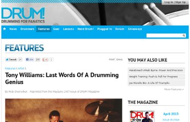 http://www.drummagazine.com/features/post/tony-williams-last-words-of-a-drumming-genius/