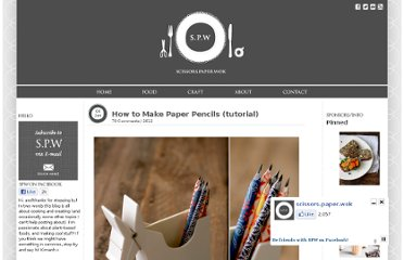 http://scissorspaperwok.com/2012/01/04/how-to-make-paper-pencils-tutorial/