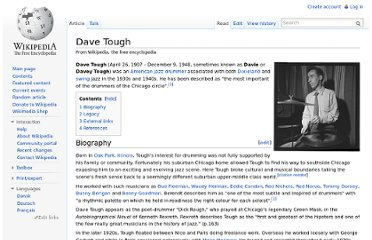 http://en.wikipedia.org/wiki/Dave_Tough