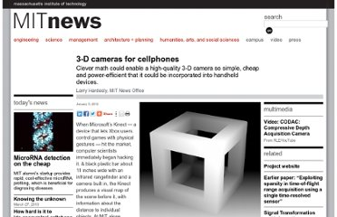 http://web.mit.edu/newsoffice/2011/lidar-3d-camera-cellphones-0105.html
