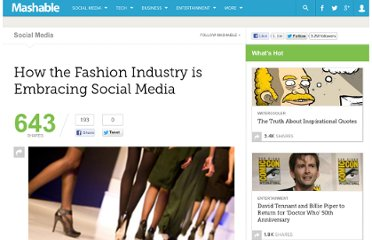 http://mashable.com/2010/02/13/fashion-industry-social-media/