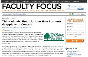 http://www.facultyfocus.com/articles/teaching-professor-blog/think-alouds-shed-light-on-how-students-grapple-with-content/