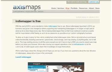 http://www.axismaps.com/blog/2012/01/indiemapper-is-free/