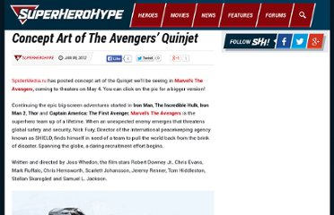 http://www.superherohype.com/news/articles/169161--concept-art-of-the-avengers-quinjet