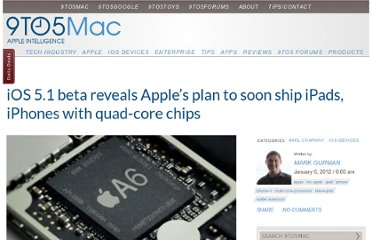 http://9to5mac.com/2012/01/06/ios-5-1-beta-reveals-apples-plan-to-soon-ship-ipads-iphones-with-quad-core-chips/