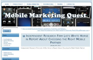 http://mobilemarketingquest.com/56502/independent-research-firm-lists-white-horse-in-report-about-choosing-the-right-mobile-partner/