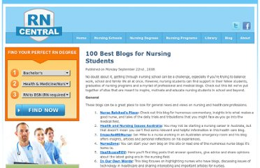 http://www.rncentral.com/nursing-library/careplans/100_best_blogs_for_nursing_students