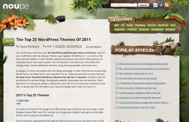 http://www.noupe.com/design/the-top-25-wordpress-themes-of-2011.html