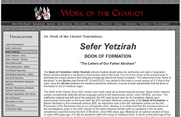 http://www.workofthechariot.com/TextFiles/Translations-SeferYetzirah.html