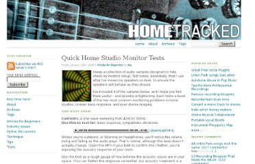 http://www.hometracked.com/2008/01/25/quick-home-studio-monitor-tests/