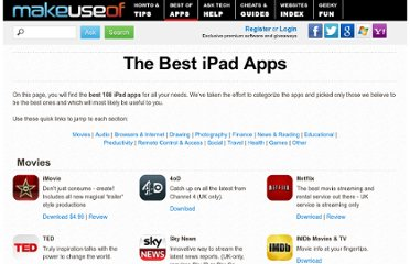 http://www.makeuseof.com/pages/best-ipad-apps#social