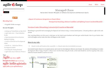 http://blogs.agilefaqs.com/2011/04/17/version-control-branching-extensively-considered-harmful/