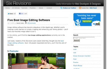 http://sixrevisions.com/tools/five-best-image-editing-software/