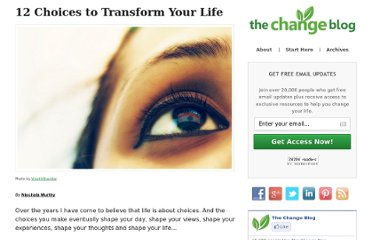 http://www.thechangeblog.com/transform-your-life/