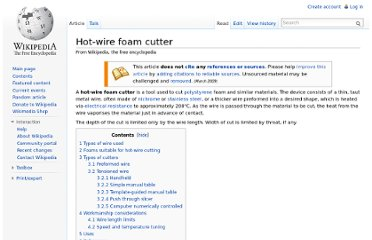http://en.wikipedia.org/wiki/Hot-wire_foam_cutter