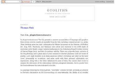 http://the-otolith.blogspot.com/2009/06/thomas-fink-tan-lin-plagiarismoutsource.html