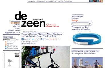 http://www.dezeen.com/2011/10/09/today-at-dezeen-platform-merel-slootheer-liat-azulay-and-pieter-frank-de-jong/