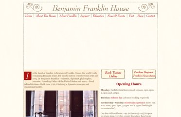 http://www.benjaminfranklinhouse.org/site/sections/default.htm