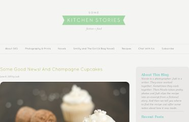http://somekitchenstories.com/2011/06/08/some-good-news-and-champagne-cupcakes/