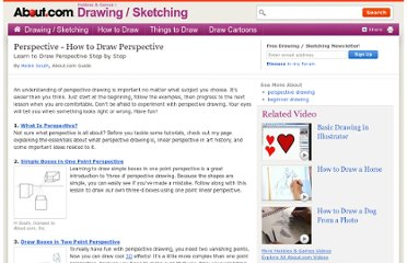 http://drawsketch.about.com/od/perspectivetechdrawing/tp/perspectiveindex.htm