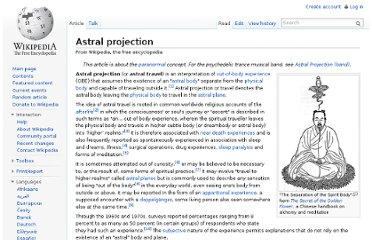 http://en.wikipedia.org/wiki/Astral_projection#Notable_practitioners