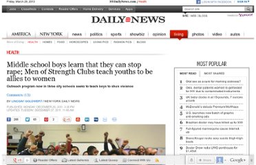 http://www.nydailynews.com/life-style/health/middle-school-boys-learn-stop-rape-men-strength-clubs-teaches-show-strength-article-1.996982#ixzz1hhWZXdL2
