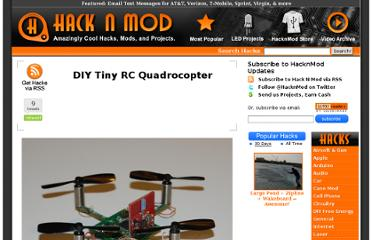 http://hacknmod.com/hack/diy-tiny-rc-quadrocopter/
