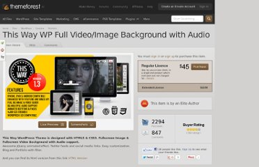http://themeforest.net/item/this-way-wp-full-videoimage-background-with-audio/943634