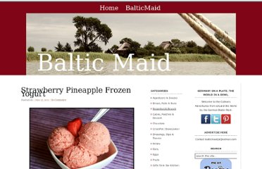 http://www.balticmaid.com/2011/06/strawberry-pineapple-frozen-yogurt/