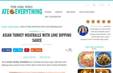 http://www.the-girl-who-ate-everything.com/2011/11/asian-turkey-meatballs-with-lime.html
