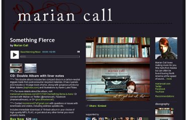 http://mariancall.bandcamp.com/album/something-fierce