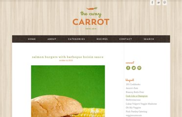 http://www.thecurvycarrot.com/2010/10/14/salmon-burger-with-barbeque-hoisin-sauce/