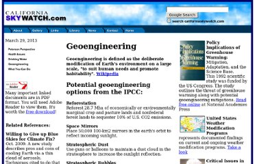 http://www.agriculturedefensecoalition.org/documents/htmldocs/geoengineering.htm