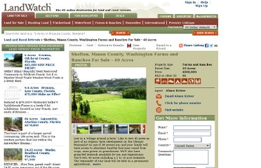 http://www.landwatch.com/Mason-County-Washington-Ranch-for-sale/pid/1487461
