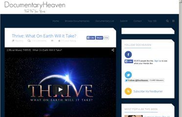 http://documentaryheaven.com/thrive-what-on-earth-will-it-take/