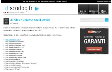http://discodog.fr/20-sites-dadresse-email-jetable.html
