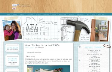 http://ana-white.com/2010/05/furniture-plans-loft-bed.html