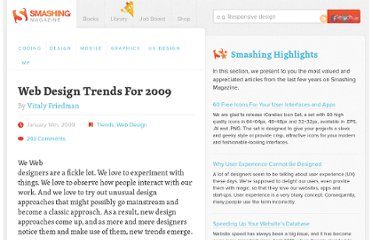 http://www.smashingmagazine.com/2009/01/14/web-design-trends-for-2009/