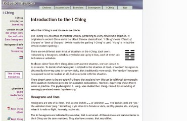 http://www.eclecticenergies.com/iching/introduction.php