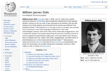 http://en.wikipedia.org/wiki/William_James_Sidis