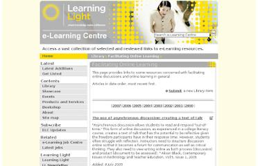 http://www.e-learningcentre.co.uk/eclipse/Resources/facilitating.htm