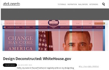 http://abduzeedo.com/design-deconstructed-whitehousegov