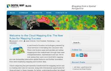 http://digmap.com/blog/index.php/2012/welcome-to-the-cloud-mapping-era-the-new-rules-for-mapping-success/