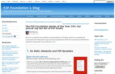 http://blog.p2pfoundation.net/the-p2p-foundation-book-of-the-year-2011-our-annual-top-ten-list-of-p2p-books/2012/01/09