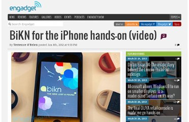 http://www.engadget.com/2012/01/08/bikn-for-the-iphone-hands-on/