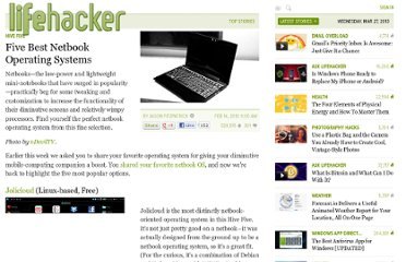 http://lifehacker.com/5471394/five-best-netbook-operating-systems