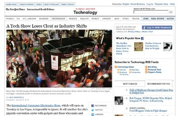 http://www.nytimes.com/2012/01/09/technology/consumer-electronics-show-loses-clout-as-industry-shifts.html?pagewanted=all